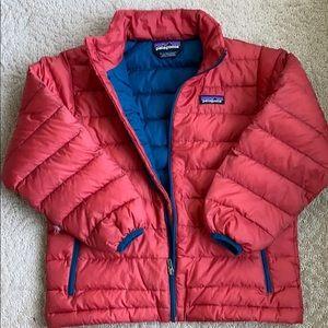 Patagonia Boys Down Sweater Jacket size 7-8